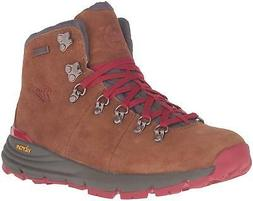 "Danner Women's Mountain 600 4.5"" Hiking Boot, Brown/Red, 8.5"