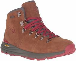 "Danner Men's Mountain 600 4.5"" Hiking Boot, Brown/Red, 10 D"