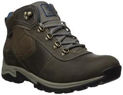 Timberland Women's Mt. Maddsen Mid Lthr WP Hiking Boot Grey,