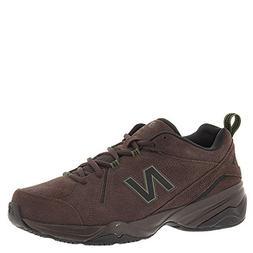 New Balance Men's MX608v4 Training Shoe, Brown, 8 2E US