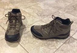 NEW $120 MERRELL MENS SIZE 10.5 BROWN LEATHER SUEDE HIKING B