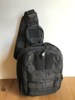 New 5.11 Tactical Sling Backpack Rush Moab 6 Black NWOT