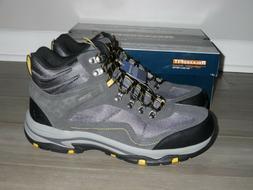 NEW Skechers 65672 Trego Pacifico Gray Waterproof Hiking Boo