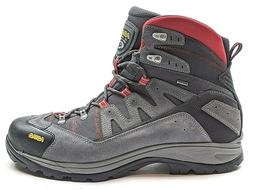 NEW Asolo Neutron GTX Hiking Boots Gray Red Gore-Tex Vibram