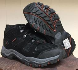 New GH BASS PANTHER Waterproof HIKING Work Boots Mens 8 Blac