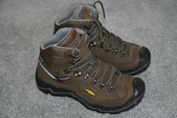 New! Men's Keen Durand II Mid Waterproof Hiking Boots, Brown