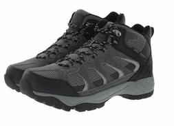 Khombu Men's Tyler Waterproof Hiking Boots Black/Grey Pick A