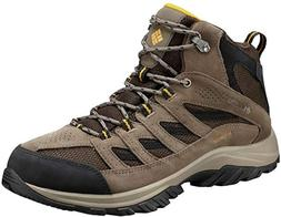 NEW Columbia Mens Crestwood Mid Waterproof Hiking Boots US 1