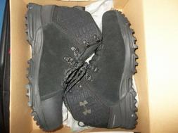 New Mens Size 10.5 Black Under Armour Brower Mid Waterproof