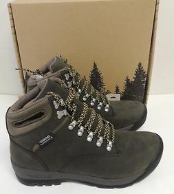 New, Bogs Outdoor Boots Mens Tumalo Hiking Nubuck Leather WP
