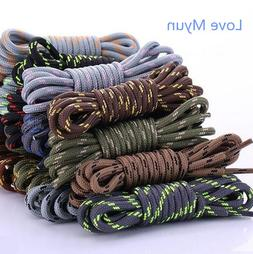 New outdoor sport casual multicolor round shoelaces <font><b