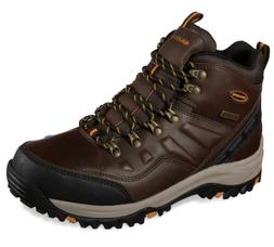 NEW Skechers Relaxed Fit Relment Traven Dark Brown Mens Hiki