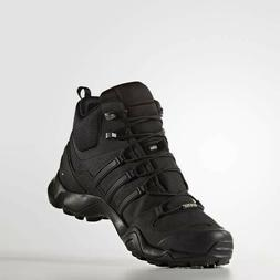 New Adidas Terrex Swift R Men's Hiking Trail Boots Black/Gre