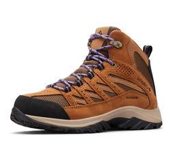 NEW Columbia Women's Crestwood Waterproof Mid Hiking Boots -