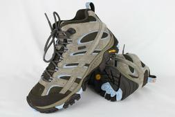 New Merrell Women's Moab 2 Mid Waterproof Hiking Size 8 Brin