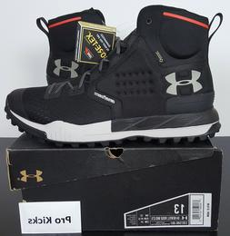 Under Armour Men's Newell Ridge Mid Gore-TEX Hiking Boot Bla