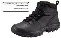 "Columbia Newton Ridge Plus II 5"" Hiking Boots Leather Men'"