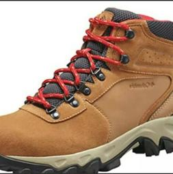Columbia Newton Ridge Plus II Brown Suede WP Hiking Boots Me
