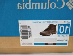 Columbia Men's Newton Ridge Plus II Hiking Boot, Cordovan/Sq