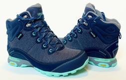 NWOB New AHNU 'Sugarpine II' blue waterproof hiking trail BO