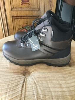 NWT Eddie Bauer Mens Hiking Boots Waterproof Leather Size 9