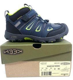 KEEN Oakridge Waterproof Mid Hiking Boots Kids Size 13 NEW I
