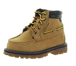 Timberland Boys' Oakwell K Hiking Boot, Wheat Nubuck, 11.5 M