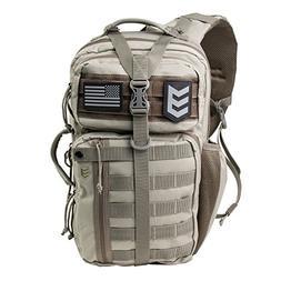 Outlaw II Tactical Gear Slinger Sling Pack, Over Shoulder Da