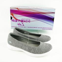 Skechers Women's Go Step-Lite Evoke Slip On Shoe - Grey