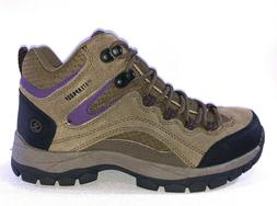 Northside PIONEER Womens Stone-Purple Waterproof Lace Up Hik