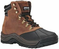 Propet Men's Blizzard Midcut Boot,Brown/Black,11 5E US
