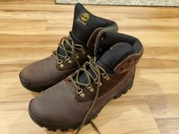 Timberland Rangeley Mid Brown Leather Hiking Boots 9810R Men