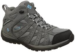 Columbia Women's Redmond Mid Waterproof Trail Shoe, Light Gr