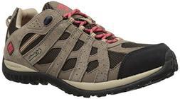 Columbia Women's Redmond Waterproof Hiking Boot, Cordovan, S