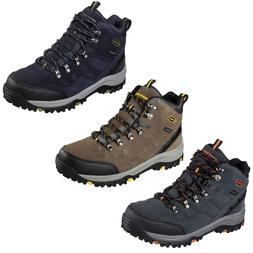 Skechers Relaxed Fit Relment Pelmo Boots Waterproof Memory F