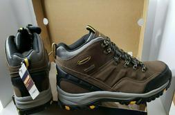 Skechers Men's Relment Pelmo Chukka Boot,Khaki,10.5 M US