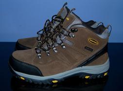 Skechers Relment-Pelmo Water Proof Hiking Boots Khaki Size 1