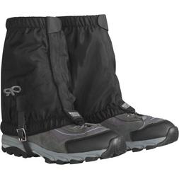 Outdoor Research Men's Rocky Mountain Low Gaiters, Black, La
