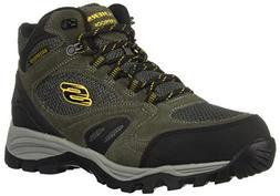 Skechers Men's ROLTON -ELERO Hiking Boot, Charcoal, 10 Mediu