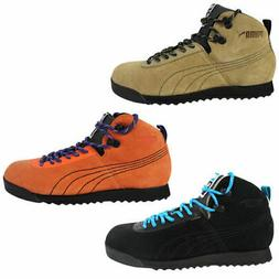 Puma Roma Hiker Mens Trainers Hiking Boots Lace Up Leather S