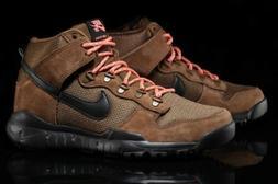 56c762b68a3 NIKE SB Dunk High Boots Military Brown Black Mens 11. 4