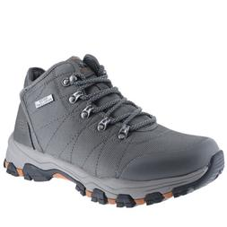 Skechers Selmen Walder Charcoal Mens Hiking Boots Size 12M