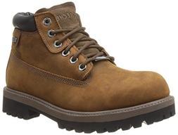 Mens Skechers Sergeants/Verdict Work Boots 11 M, Brown