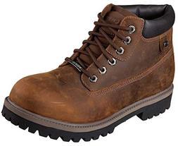 Mens Skechers Sergeants/Verdict Work Boots 10.5 D, Brown