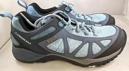 Merrell Women's Siren Sport Q2 Waterproof Hiking Boot, Blue,