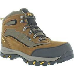 Hi-Tec Men's Skamania Mid WP Hiking Boot, Brown/Gold,11 W US