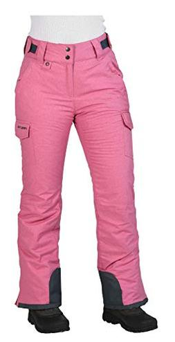 Arctix Women's Snowsport Cargo Pants, Medium, Pink Rose