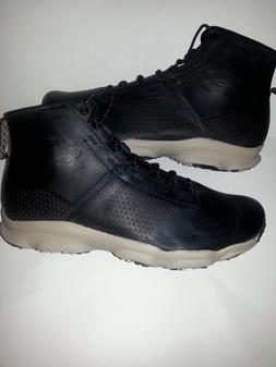 UNDER ARMOUR SpeedFit Hike Leather Men's Hiking Boots;Blac