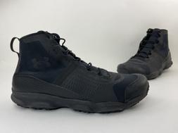 Under Armour Speedfit Hike Mid Boots Black On Black Men's
