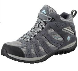 SZ 7.5 Women's Columbia Redmond Mid Waterproof Hiking Boot L